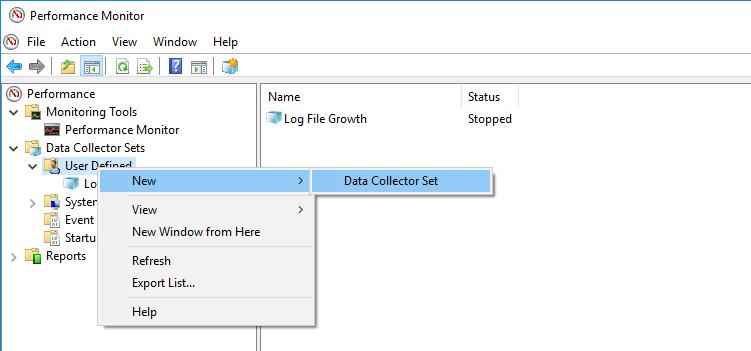 Getting perfmon data into SQL Server, Part I – SQLDoubleG